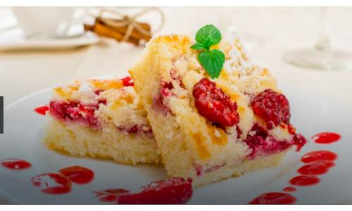 Ciasto drożdżowe z owocami dla leniwych