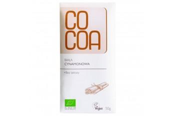 CZEKOLADA CYNAMONOWA BIO 50 g - COCOA