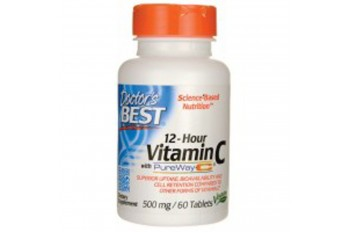 12- HOUR VITAMIN C WITH PUREWAY C - 60 TAB