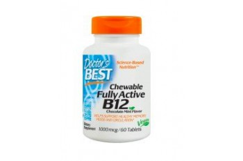 CHEWABLE FULLY ACTIVE B12, 60 TABLETS